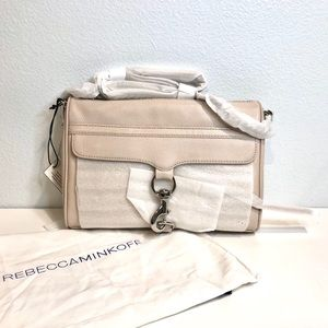 BNWT Rebecca Minkoff $295 Large MAC Cross Body